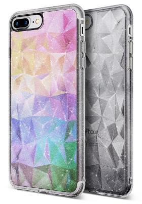 Ringke Air Prism Glitter Skal till iPhone 8 Plus / 7 Plus - Grå