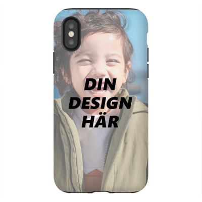 Tough Personligt mobilskal till iPhone XS X cfc78d583abde