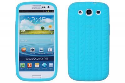 Tyre Silikonskal till Samsung Galaxy S3 i9300 (Ljus Blå)