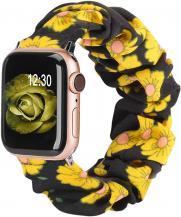 OEMArmband Scrunchie Apple Watch 1/2/3/4/5/6/SE 38/40mm Solblomma