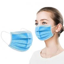 [1-PACK] Munskydd CE-godkänd 3-Lager Skyddsmask, Ansiktsmask