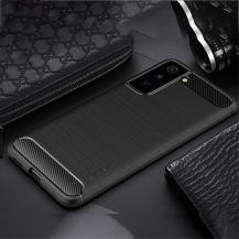 A-One BrandCarbon Fiber Mobilskal Samsung Galaxy S21 - Svart