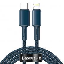BASEUSBaseus USB Type C - lightning Kabel 20 W 2 m Blå