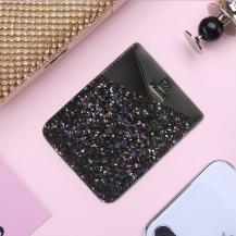 FlovemeFloveme Card Holder - Glitter Svart