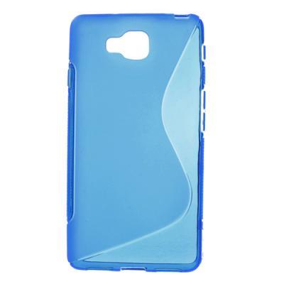 FlexiCase Skal till LG Optimus L9 II - D605 - (Blå)