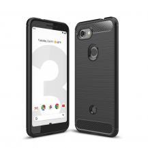 A-One BrandCarbon Fiber Brushed Skal till Google Pixel 3a XL - Svart
