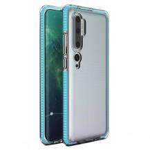 HurtelSpring Case skal Mi Note 10/10 Pro/Mi CC9 Pro ljus Blå