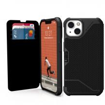 UAGUAG iPhone 13 Metropolis plånboksfodral - Svart