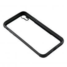 GEARGEAR Mobilskal med Tempererat Glas iPhone XR - Svart