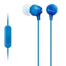 SonySony Headset in-ear MDR-EX15AP Blå