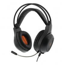 Deltaco GamingStereo headset, 2x3,5 mm kontakter, 40 mm elementer