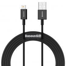 BASEUSBaseus Superior Fast Charging Lightning - USB Kabel 2m - Svart