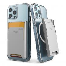 RingkeRingke Magsafe Magnetic Korthållare iPhone 12 /13 (Pro/Max/Mini) - Grå