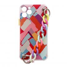 HurtelFlexible Chain Pendant Mobilskal iPhone 12 - Flerfärgad