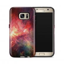 TheMobileStore Print CasesTough mobilskal till Samsung Galaxy S7 - Rymden - Röd/Svart
