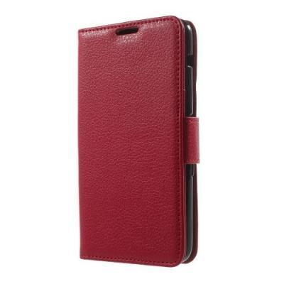 Litchi Plånboksfodral till Sony Xperia E4 - Röd