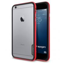 SpigenSPIGEN Neo Hybrid EX Bumper Skal till Apple iPhone 6(S) Plus (Röd)
