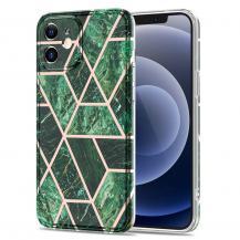 Boom of SwedenBoom of Sweden Grid skal till iPhone 12 Mini - Grön Marmor