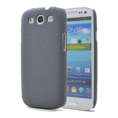 Baksidesskal till Samsung Galaxy S3 i9300 - Sand - Grå