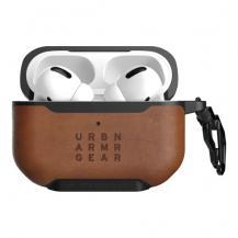 UAGUAG Fodral i läder för Apple Airpods Pro, Metropolis Case, Brun