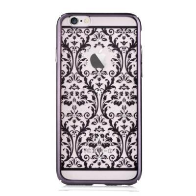 Devia skal med Swarovski-stenar till iPhone 6 / 6S - Pattern Svart