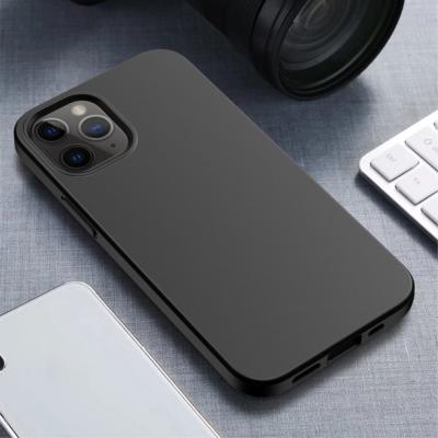 Wheat Straw Eco-Vänling Mobilskal iPhone 12 - Svart
