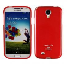 MercuryMercury Color Pearl Jelly FlexiSkal till Samsung Galaxy S4 i9500 (Röd)