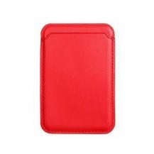 A-One BrandMagsafe Korthållare till Apple iPhone 12/12 Pro / Mini / Pro Max - Röd