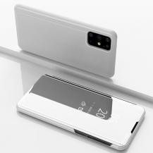 TaltechView Window Flip-Fodral till Samsung Galaxy S20 Plus - Silver