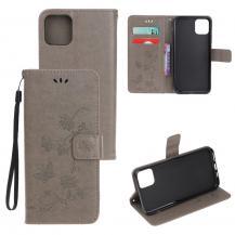 A-One BrandButterfly Plånboksfodral till iPhone 11 Pro Max - Grå