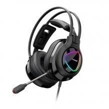 TronsmartTronsmart Glary Alpha Gaming RGB Headset Gamers Svart