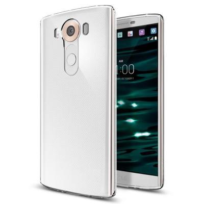 SPIGEN Liquid Crystal Skal till LG V10 - Clear