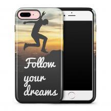 TheMobileStore Print CasesTough mobilskal till Apple iPhone 7 Plus - Follow Your Dreams