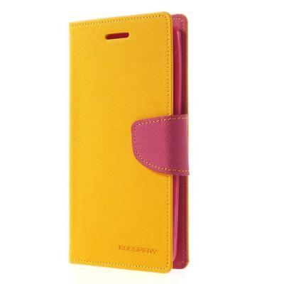 Mercury Fancy Diary Plånboksfodral till LG G3 (Gul)