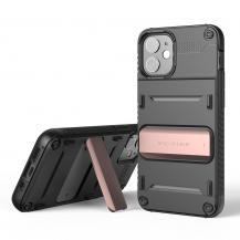 VERUSVRS DESIGN | Damda QuickStand Skal iPhone 12 Mini - Bronze Svart