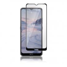 PanzerPanzer - Full-fit Glass Nokia 2.4 - Svart