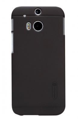 Nillkin Frosted Shield Skal till HTC One M8 (Brun) + Skärmskydd