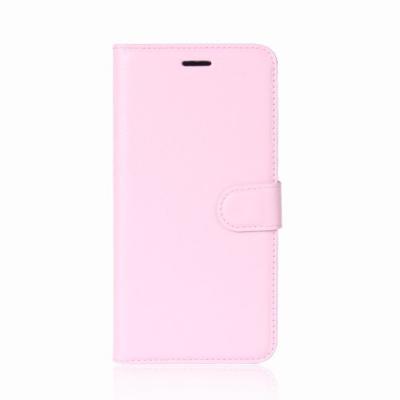 Litchi Plånboksfodral Till Nokia 6.1 (2018) - Rosa