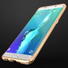 LuphieLUPHIE Rapier Prismatic Aluminum Bumper till Samsung Galaxy S6 Edge Plus - Guld