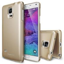 RearthRingke Slim Dual Coated Skal till Samsung Galaxy Note 4 - Gold