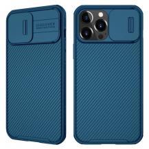 NillkinNillkin CamShield Silikon Skal iPhone 13 Pro - Blå