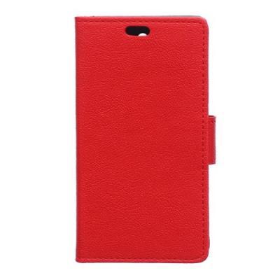 Plånboksfodral till Samsung Galaxy S6 Active - Röd