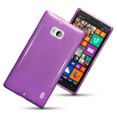 FlexiCase Skal till Nokia Lumia 930 (Lila)