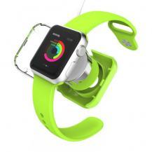 VCOERVCOER Skyddande laddningsskal till Apple Watch 38mm / 42mm - Grön