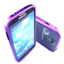OEMAluminium Bumper Skal till Samsung Galaxy S4 i9500 (Lila)