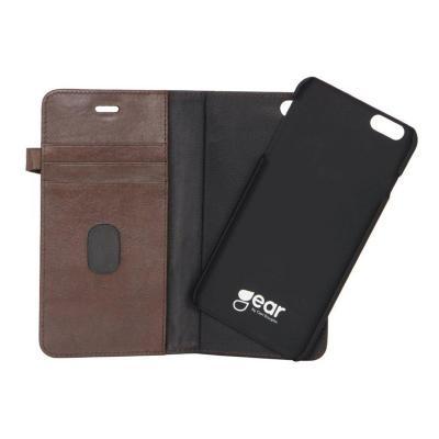 GEAR Buffalo äkta läder Plånboksfodral iPhone 6(S) Plus - Brun