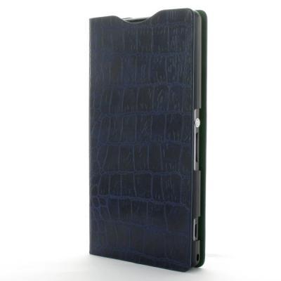 AVOC Nuovo Diary Plånboksväska till Sony Xperia Z1 (Navy)