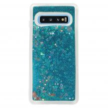 CoveredGearGlitter Skal till Samsung Galaxy S10 Plus - Blå