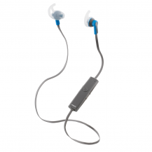 STREETZSTREETZ Bluetooth-sporthörlurar, mikrofon, Bluetooth 4.1, grå/blå