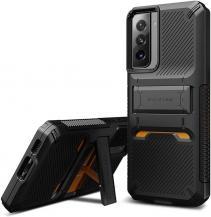 VERUSVRS DESIGN - Damda QuickStand Skal Samsung Galaxy S21 - Svart